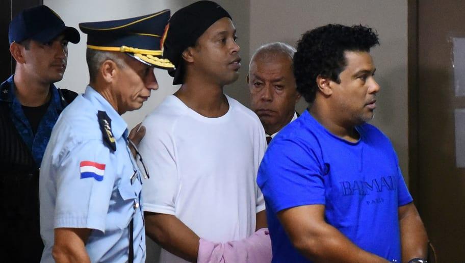 FBL-PARAGUAY-BRAZIL-JUSTICE-RONALDINHO