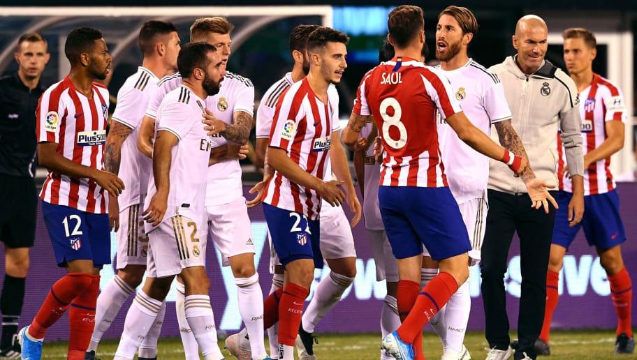 Sergio Ramos Tries To Excuse 7 3 Atletico Madrid Loss His Reason Is Pretty Pathetic 90min