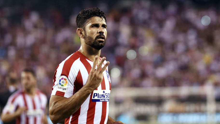 Atletico Madrid Striker Diego Costa Fit to Face Eibar After Recovering From Thigh Injury