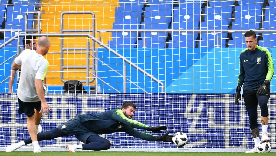 86d7b716b57 Man City Goalkeeper Ederson Claims Liverpool's Alisson Is 'One Step Ahead'  in Brazil Pecking Order