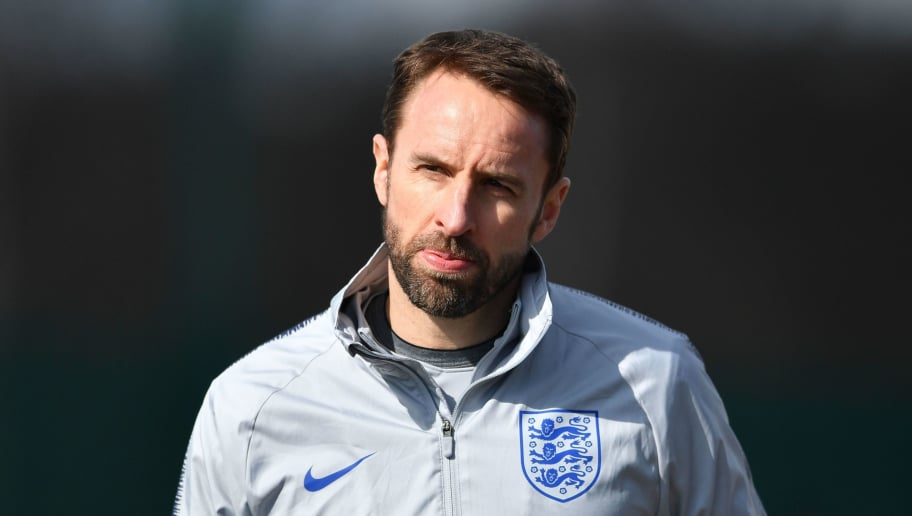 England's manager Gareth Southgate arrives for a training session at Tottenham Hotspur's training ground in north London on March 26, 2018, ahead of their international friendly football match against Italy. / AFP PHOTO / Ben STANSALL / NOT FOR MARKETING OR ADVERTISING USE / RESTRICTED TO EDITORIAL USE         (Photo credit should read BEN STANSALL/AFP/Getty Images)