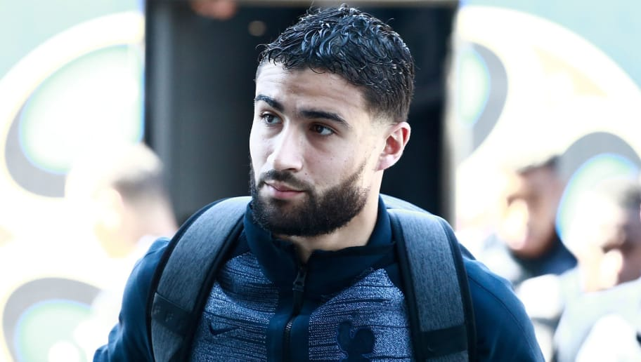 France's midfielder Nabil Fekir arrives to a hotel in Kazan on June 29, 2018 on the eve of the Russia 2018 World Cup round of 16 football match between France and Uruguay. (Photo by Benjamin CREMEL / AFP)        (Photo credit should read BENJAMIN CREMEL/AFP/Getty Images)