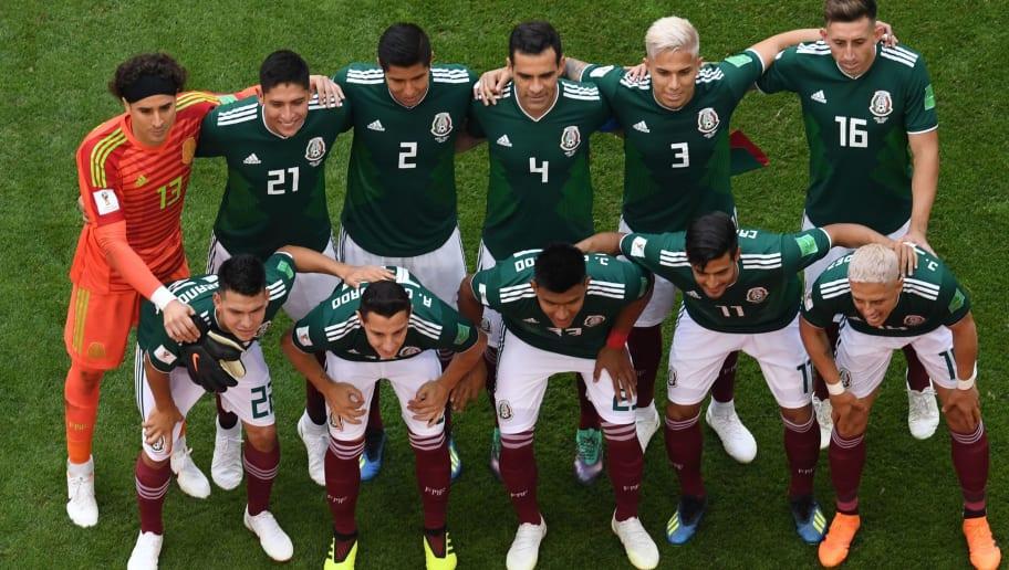 (BACK L to R) Mexico s goalkeeper Guillermo Ochoa 0be16650b100e