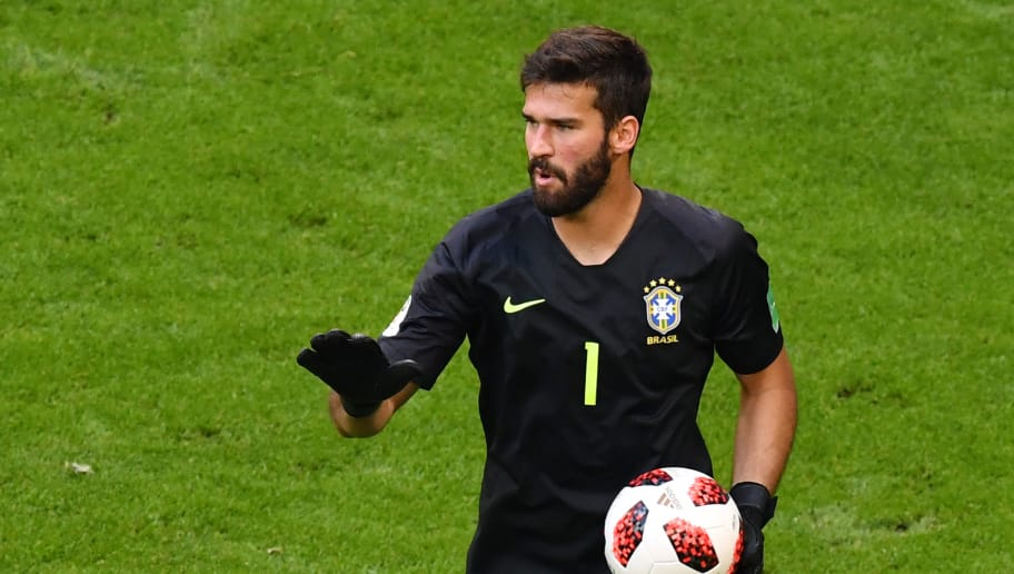 37e4d8fe975 Liverpool New Boy Alisson Becker Drops Hint Over Reds Squad Number ...