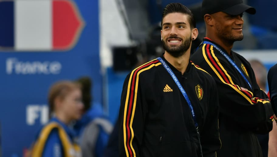 Yannick Carrasco Reveals Previous Interest From Arsenal in Latest Summer Transfer Plea