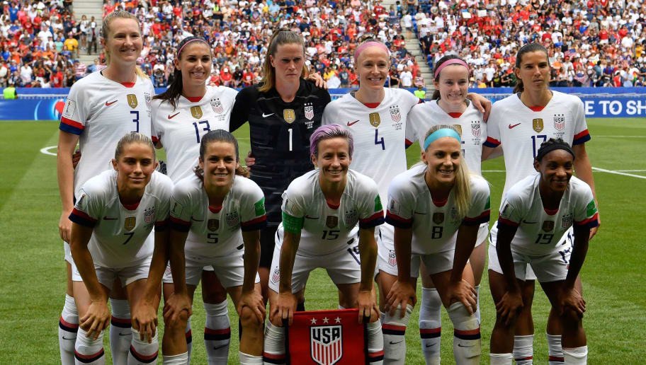 USWNT End 2019 Top of FIFA Women's World Rankings as England Fall to Lowest Since 2015