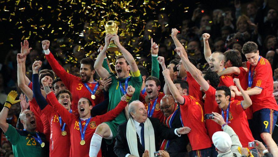 Starting XI Timnas Spanyol yang Menjuarai Piala Dunia 2010 ...