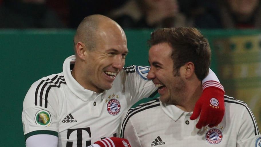 Mario Goetze,Arjen Robben