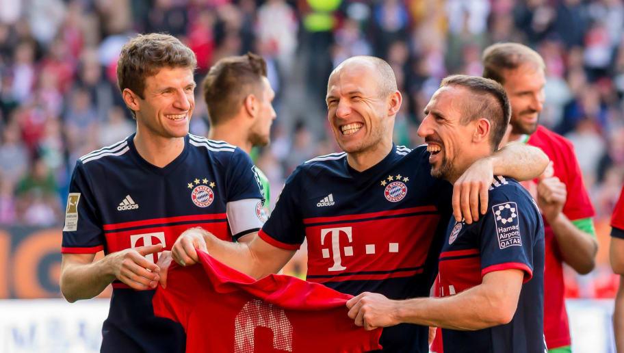Thomas Mueller,Arjen Robben,Franck Ribery