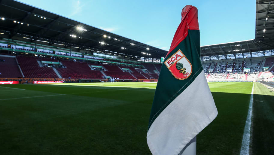 AUGSBURG, GERMANY - APRIL 30: : A general view of the WWK Arena / Stadion during the Bundesliga match between FC Augsburg and Hamburger SV at WWK Arena on April 30, 2017 in Augsburg, Germany. (Photo by TF-Images/Getty Images)