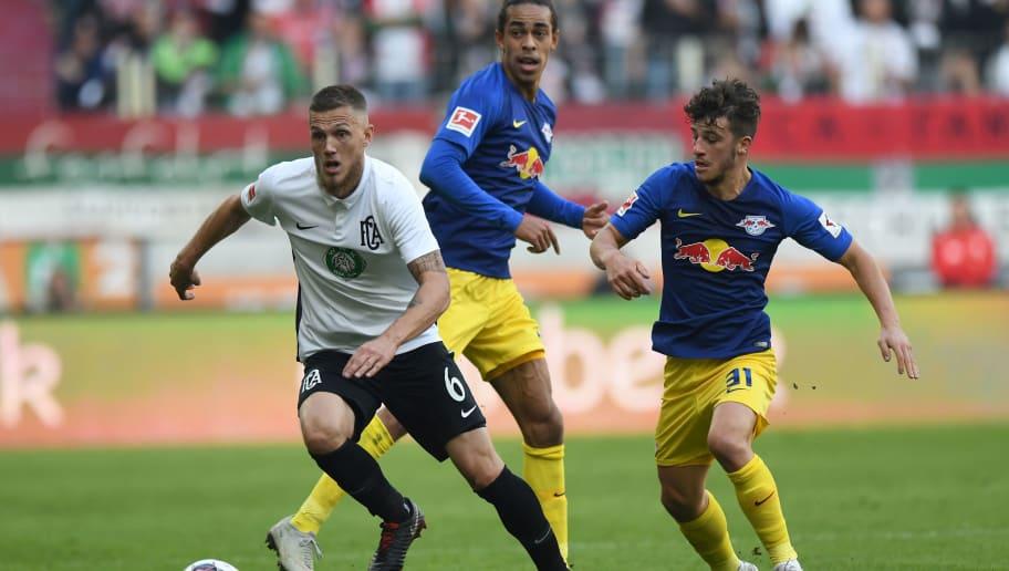 Rb Leipzig Fc Augsburg Die Offiziellen Aufstellungen Germansite