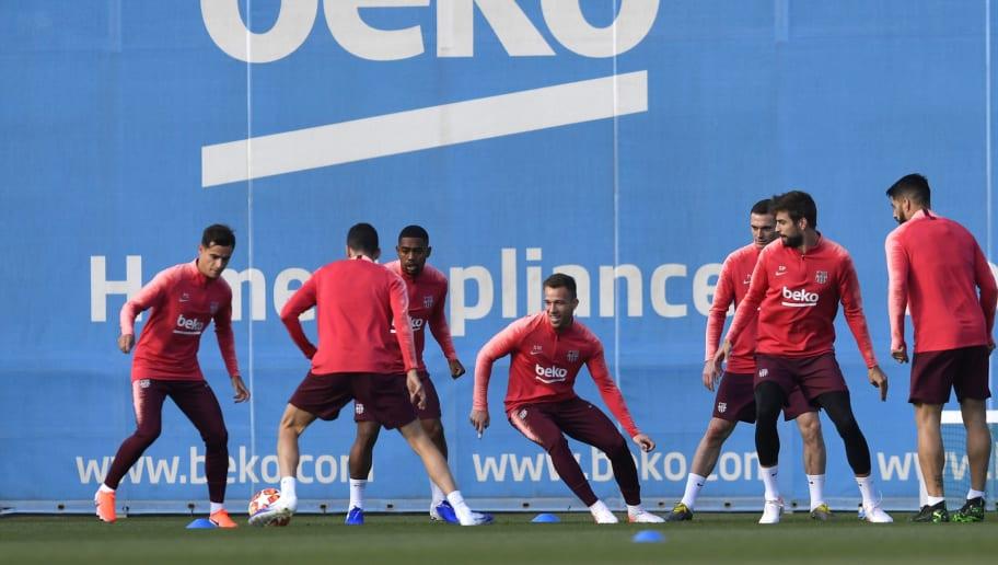 Philippe Coutinho,Malcom,Arthur,Gerard Pique