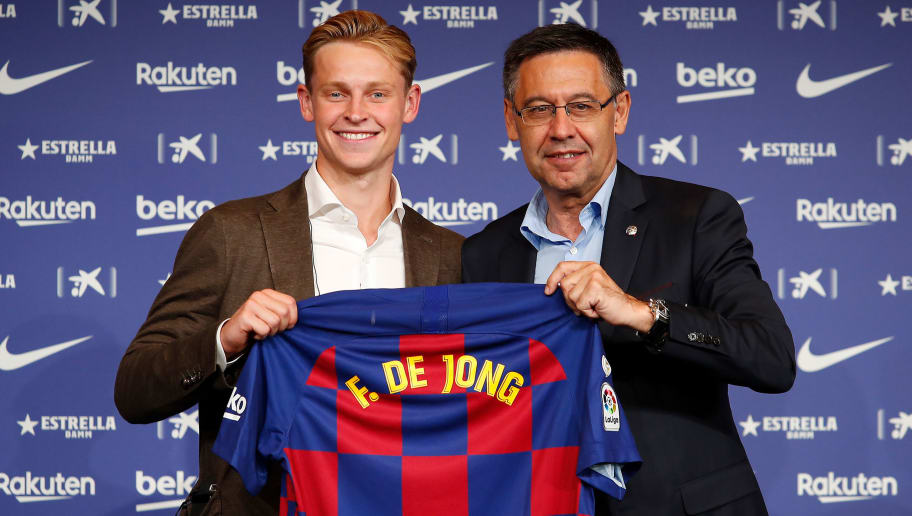Frenkie De Jong Reveals Why He Turned Down The Number 14 Shirt At Barcelona 90min