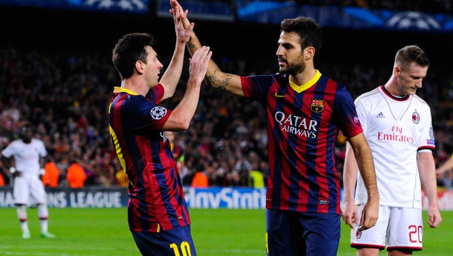 Lionel Messi,Cesc Fabregas