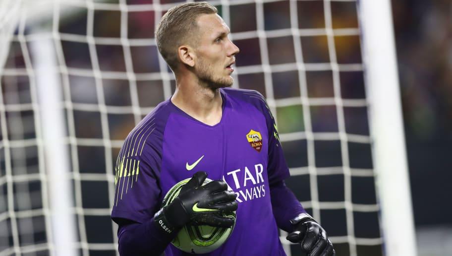 Roma, c'è il dubbio Olsen: il portiere titolare contro il Torino ...