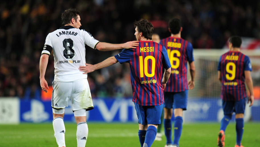 Frank Lampard Calls Lionel Messi the Most Incredible Player He Played Against
