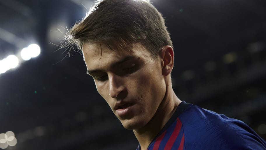 BARCELONA, SPAIN - DECEMBER 05: Denis Suarez of FC Barcelona looks on during the Spanish Copa del Rey second leg match between FC Barcelona and Cultural Leonesa at Camp Nou on December 05, 2018 in Barcelona, Spain. (Photo by Quality Sport Images/Getty Images)