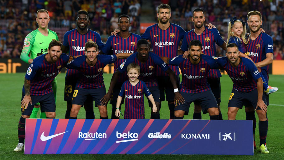 Predicting Barcelona S Ideal Starting Xi For The 2018 19 Season