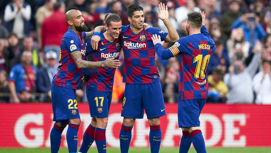 Antoine Griezmann,Lionel Messi,Luis Suarez,Arturo Vidal