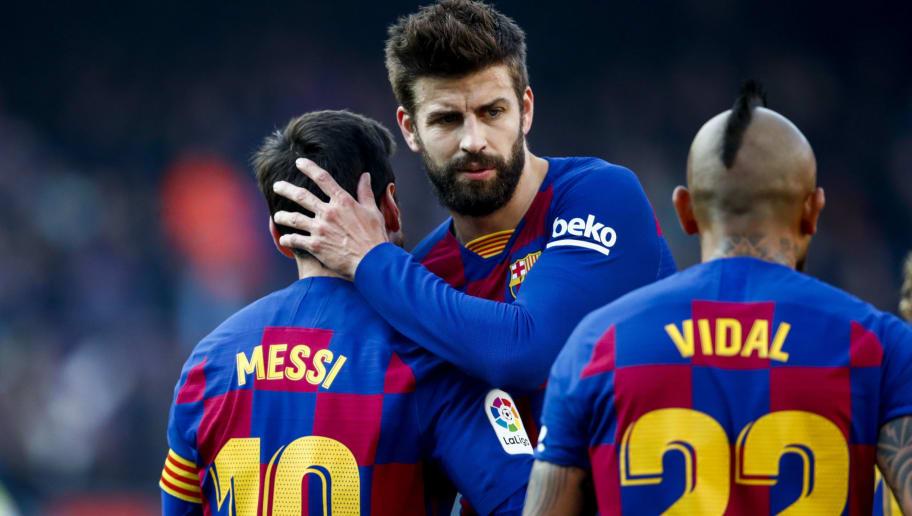 Arturo Vidal,Gerard Pique,Lionel Messi