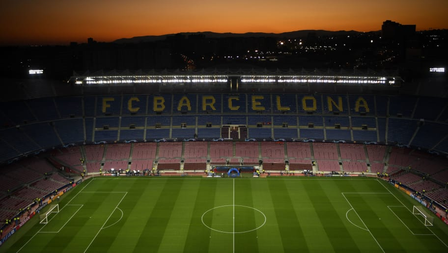 59c1819c65d BARCELONA, SPAIN - OCTOBER 24: General view inside the stadium prior to the  Group