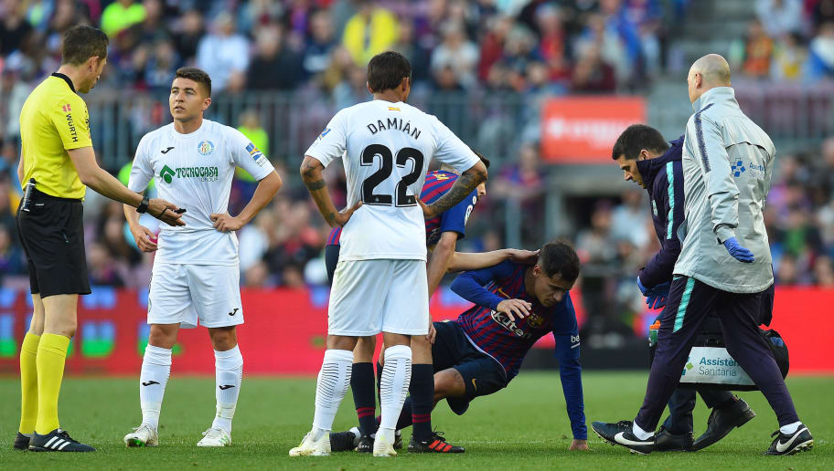 Update on Philippe Coutinho's Injury After Forward Hobbles Off in Getafe Win