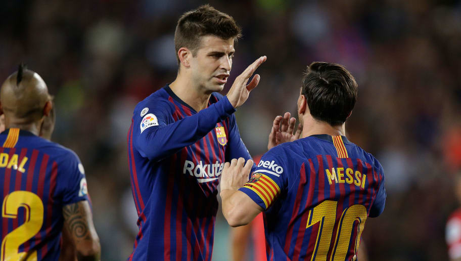 Lionel Messi Gerard Piqué In Furious Dressing Room Clash After