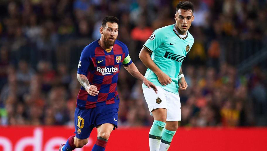 Lionel Messi,Lautaro Martinez