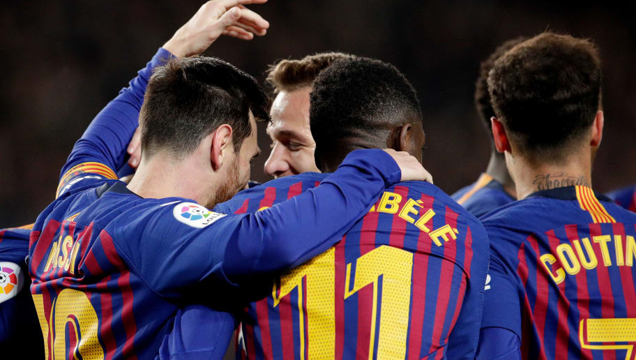 Lionel Messi,Ousmane Dembele,Philippe Coutinho