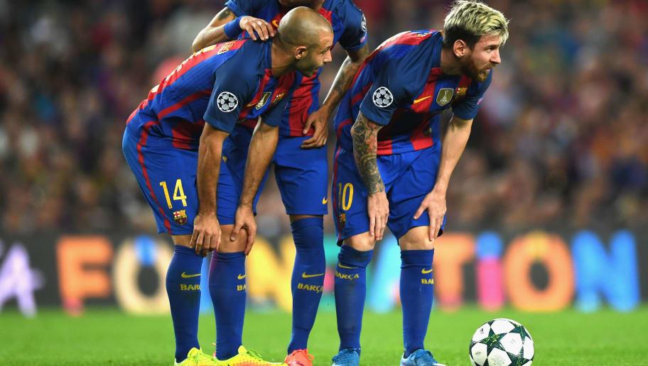 Javier Mascherano,Neymar,Lionel Messi