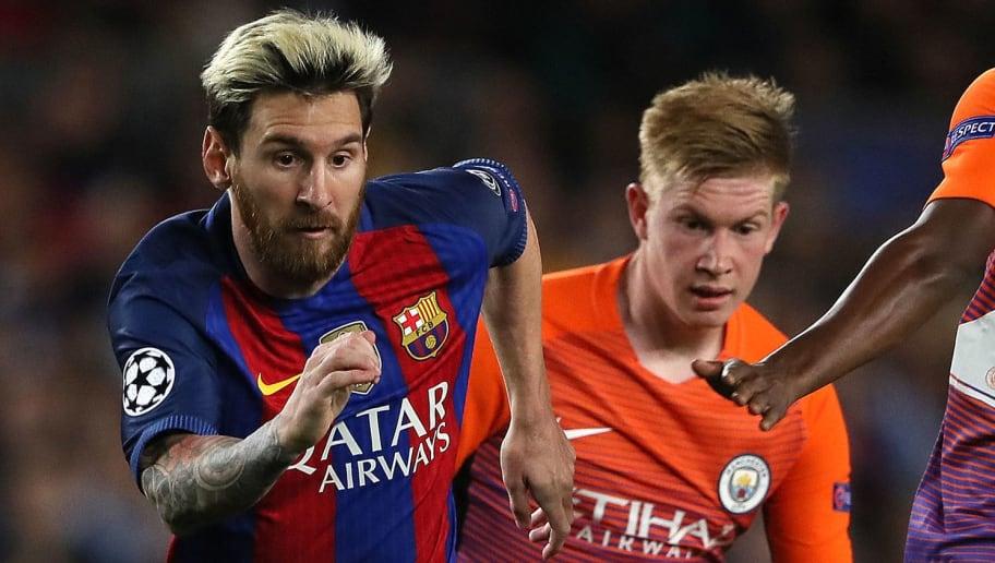Lionel Messi,Kevin de Bruyne