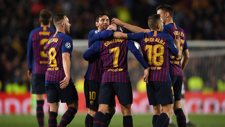 Philippe Coutinho,Arthur,Jordi Alba,Lionel Messi
