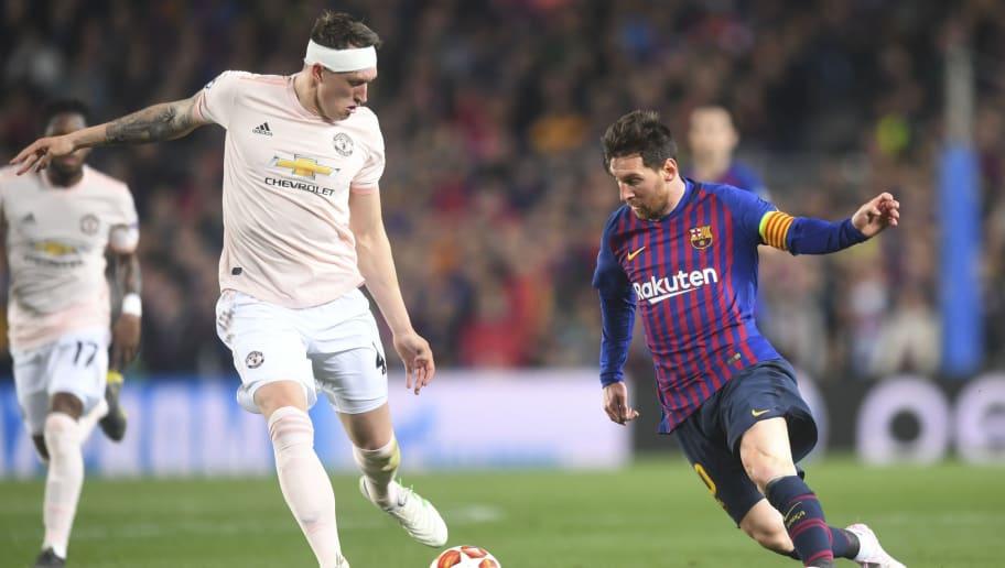 Lionel Messi,Phil Jones