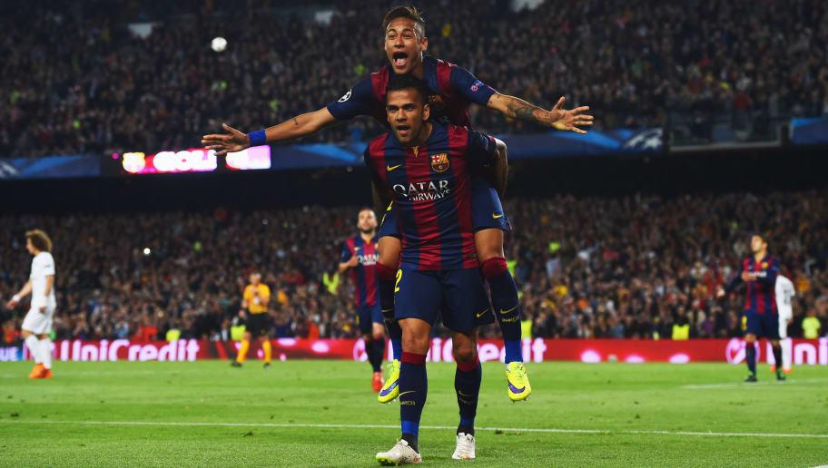 Neymar,Daniel Alves