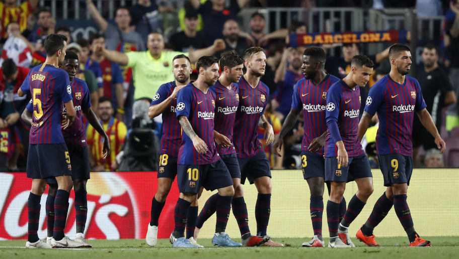 Ivan Rakitic,Jordi Alba,Lionel Messi,Luis Suarez