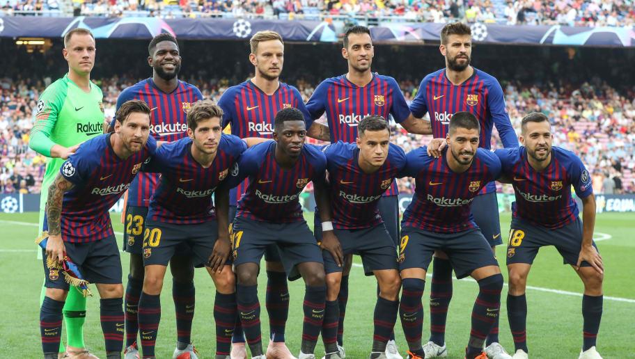 Gerard Pique,Ivan Rakitic,Jordy Alba,Lionel Messi