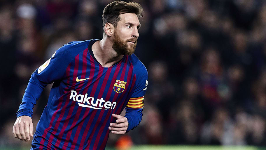 BARCELONA, SPAIN - DECEMBER 22: Lionel Messi of FC Barcelona during the La Liga match between FC Barcelona and RC Celta de Vigo at Camp Nou on December 22, 2018 in Barcelona, Spain. (Photo by Quality Sport Images/Getty Images)