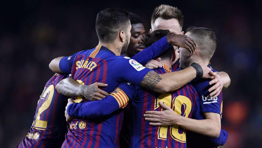 Lionel Messi,Luis Suarez,Ousmane Dembele