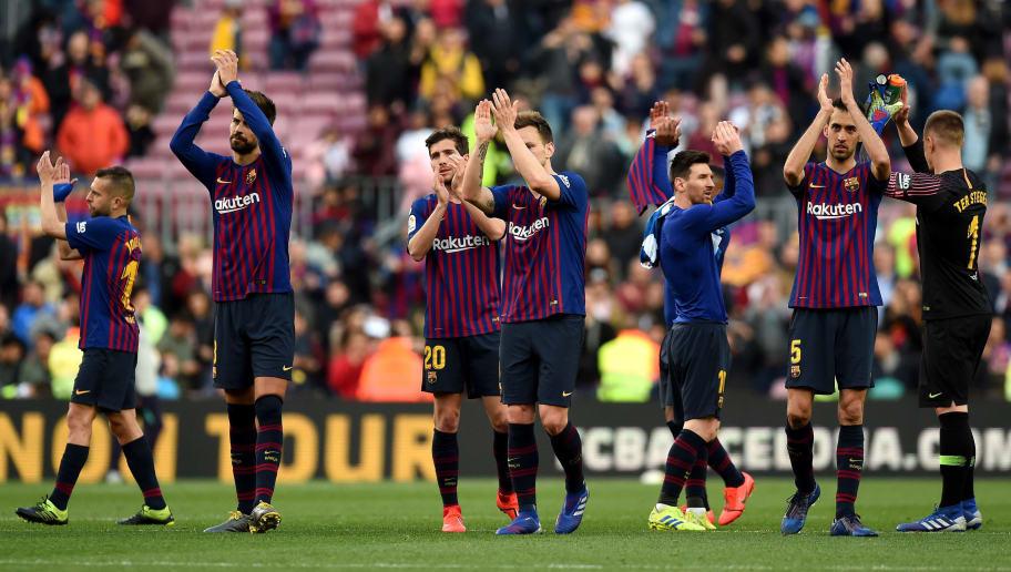Image result for Barcelona 2 - 0 RCD Espanyol