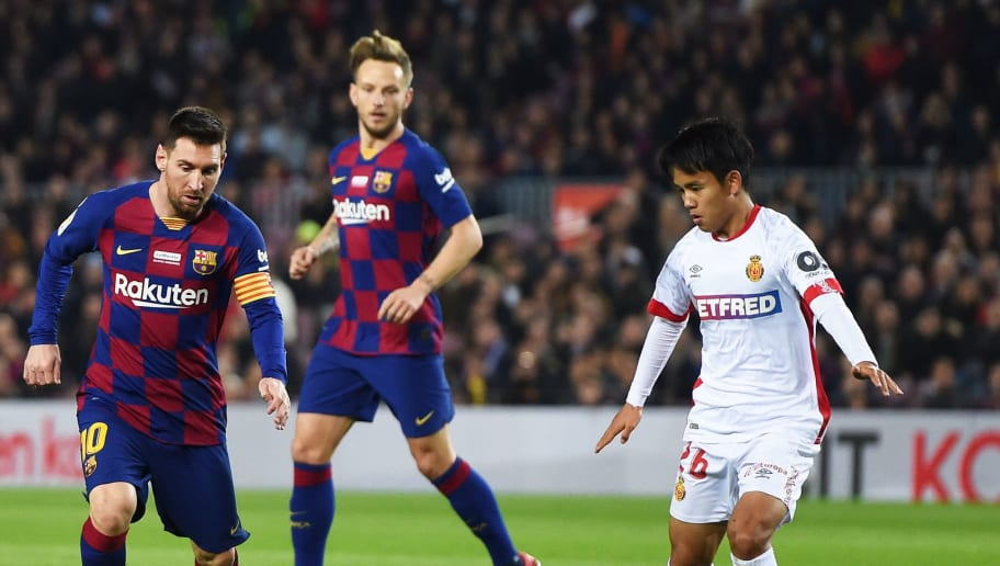 Lionel Messi,Takefusa Kubo