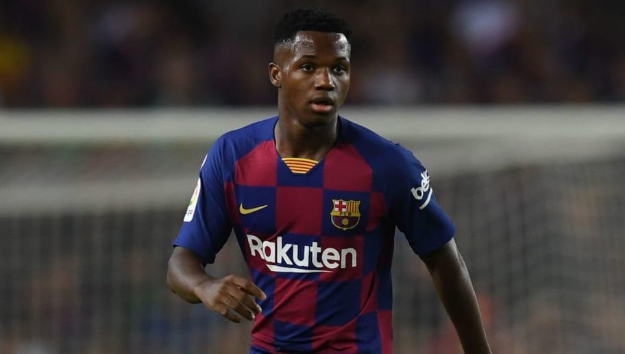 Ansu Fati set for whopping signing fee in new Barcelona ...  |Ansu Fati