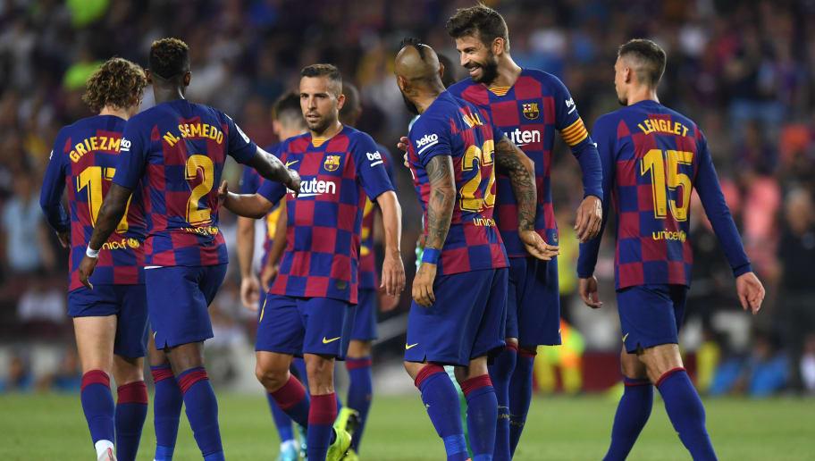 Arturo Vidal,Gerard Pique,Jordi Alba,Nelson Semedo