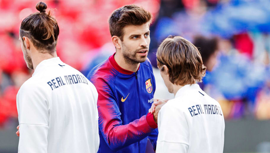 Gerard Pique,Gareth Bale,Luka Modric