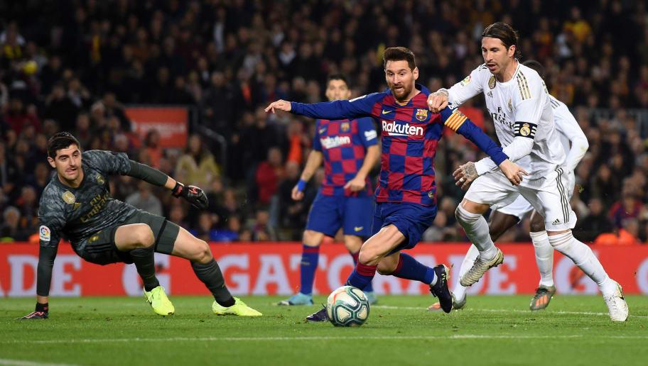 Барселона реал мадрид отчёт