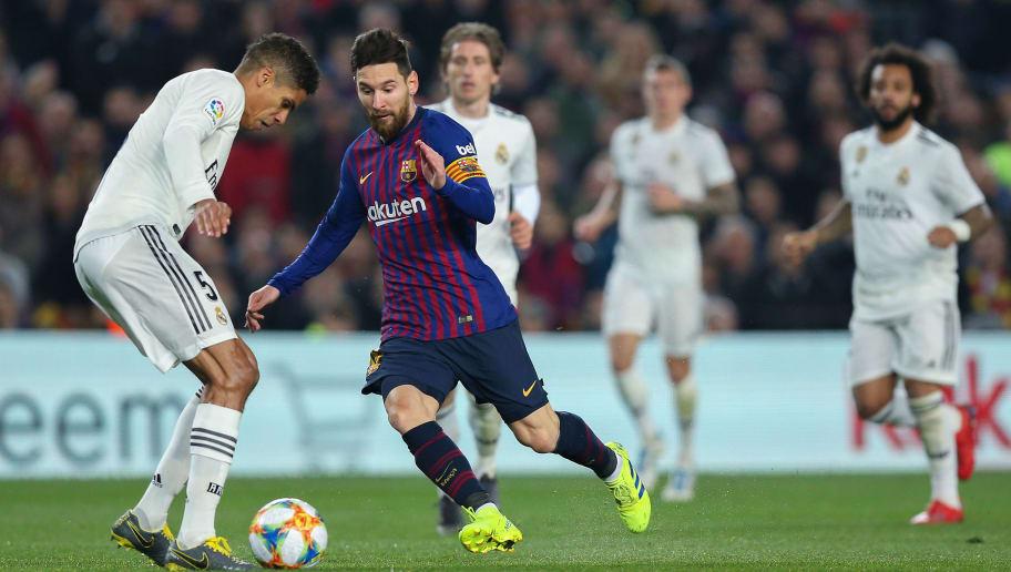 Lionel Messi,Raphael Varane