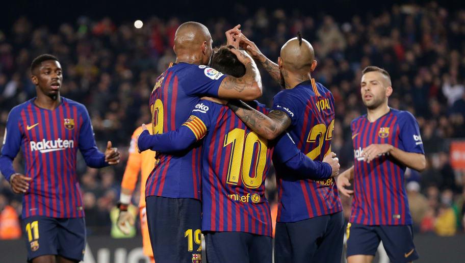 Arturo Vidal,Kevin Prince Boateng,Lionel Messi,Ousmane Dembele