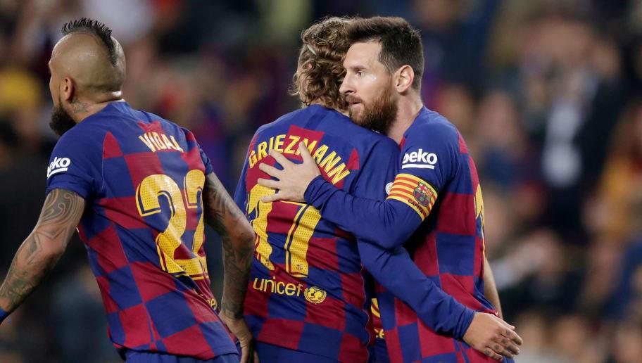 Antoine Griezmann,Arturo Vidal,Lionel Messi