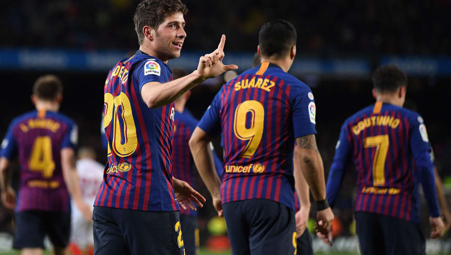 Barcelona 6-1 Sevilla  Report 0daf0b435