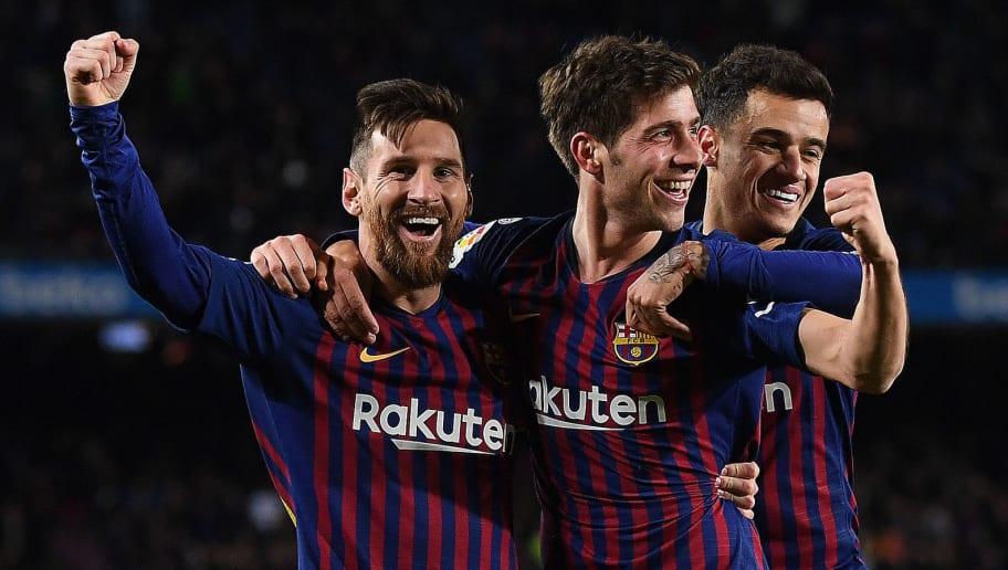Sergi Roberto,Lionel Messi,Philippe Coutinho