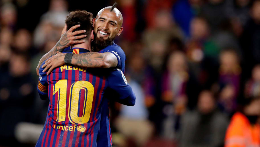 Arturo Vidal,Lionel Messi